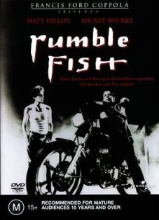 Film moto, biker movie , road movie, film sulle moto,Rusty Il Selvaggio, rumble fish