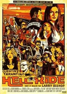 Film moto, biker movie , road movie, film sulle moto,Hell Ride,Quentin Tarantino