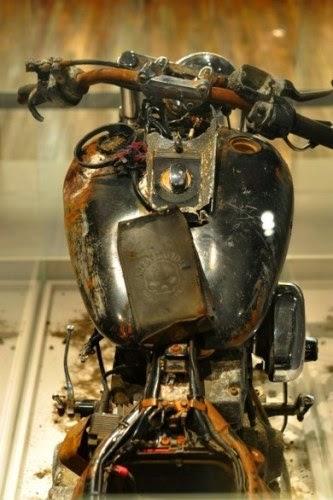 Una Harley-Davidson soppravvissuta allo Tsunami