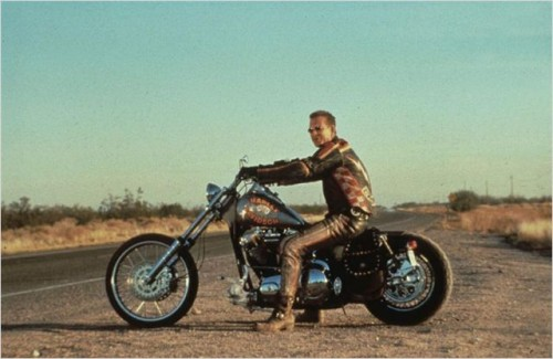 Film moto, biker movie , road movie, film sulle moto,Harley Davidson & Malboro Man