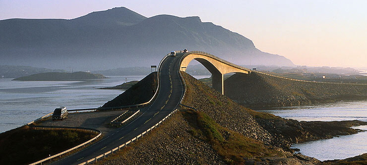 Atlantic Ocean Road Ponte Storseisundet