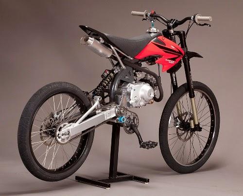Moto Particolari, MotoPed, moto bicicletta