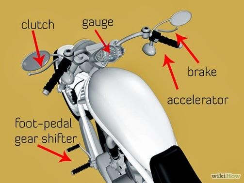 Come guidare una moto a marce ?
