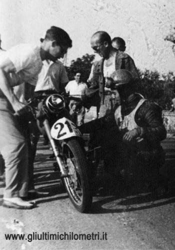 Documentari sulle moto, documentari moto, gli ultimi chilometri,Cosimo Vaccarelli, MV Agusta 175 SS, Road Races, documentari Road Races,