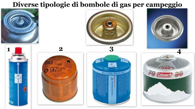 Adattatori bombole da campeggio per fornelli a gas born - Bombole di gas per cucinare ...