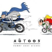 Motoon - Funny Hero Bikers