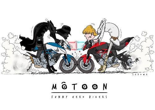Motoon - Hero, disegni moto, disegni mooton, arte moto,