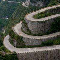 Strade Mitiche: Tianmen Shan Big Gate (Cina)