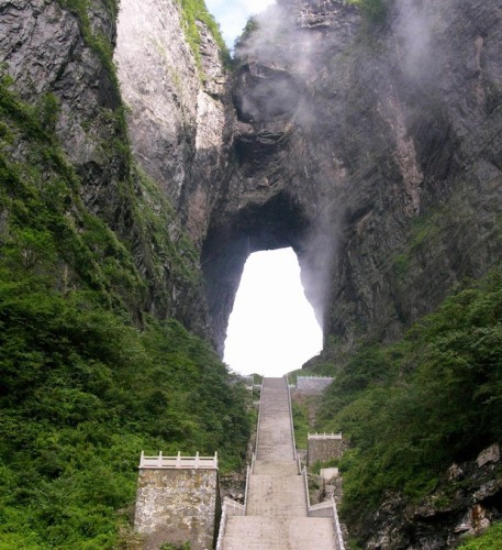 Heaven's Gate, Tianmen Shan Big Gate, strade mitiche , strade cina, strade belle,