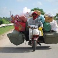Come caricare i bagagli sulla moto