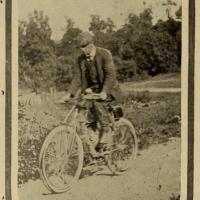 George A. Wyman, moto, California , Roy C. Marks, viaggio in moto, primo viaggio in moto,
