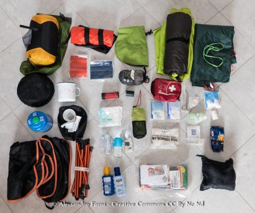 viaggio, bagaglio , attrezzatura da viaggio, camping,