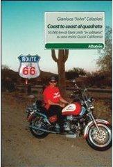 libri viaggi moto, libri moto, libri Coast to coast, Coast to coast Usa
