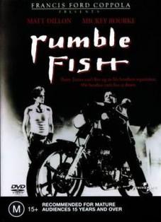 Film moto, biker movie , road movie, film sulle moto,Rusty Il Selvaggio, rumble fish