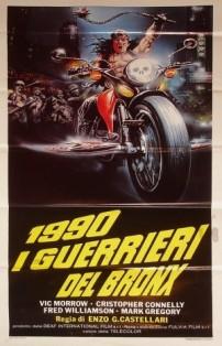Film moto, biker movie , road movie, film sulle moto,1990 I guerrieri del Bronx
