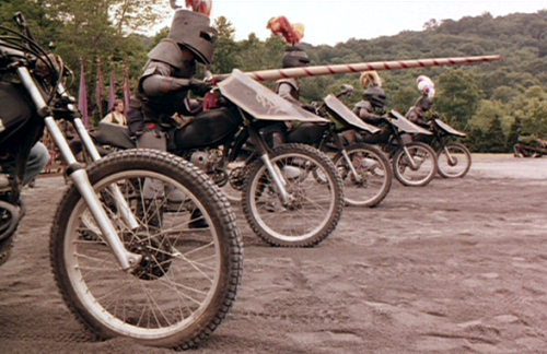 Film moto, biker movie , road movie, film sulle moto,Knightriders, I cavalieri