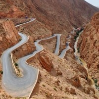 Strade Mitiche ; Dades Gorge Road (Marocco)
