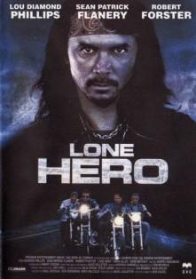Film moto, biker movie , road movie, film sulle moto, Lone hero, cover Lone hero
