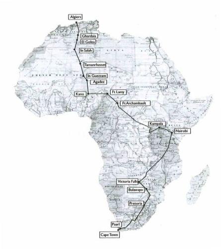 Theresa Wallach, Florence Blenk, The Venture, The Rugged Road, libri moto , libri viaggi in moto, libri africa in moto, libri sulle moto, maps ruged road,