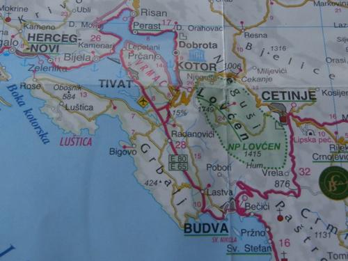 strade belle in moto, strada dei 50 tornanti, strade belle Montenegro, Kotor Cetinje