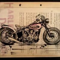 Arte Vintage di motociclette By Cay Brøndum