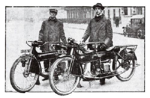 giro del mondo in moto, Carl Clancy , primo giro del mondo in moto, giro del mondo,