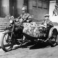 Sulkowsky Bartha e Zoltan Gyula: Il giro del mondo in sella ad un  Harley Davidson