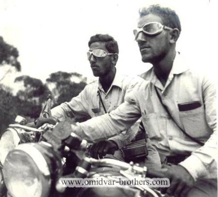 Viaggi in moto, giro del mondo in moto, Omidvar Brothers ,Omidvar,